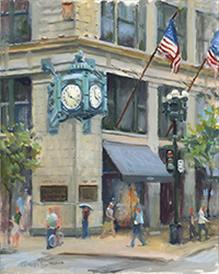 Marshall Field's Clock by Thomas Trausch