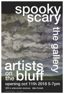 """""""Something Spooky"""" Art Exhibit Opening @ The Gallery   Lake Forest   Illinois   United States"""